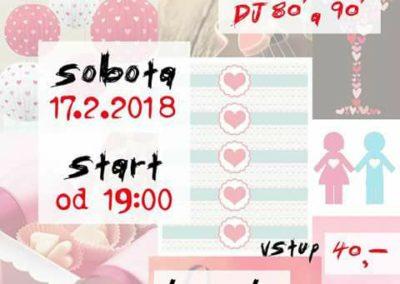 17.2.2018 - Valentýnská párty