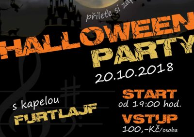 20.10. od 19h - HALLOWEEN PARTY